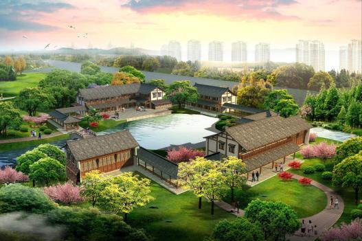 唐山湾三岛道路景观概念性设计方案一2011 唐山园林院高清图片