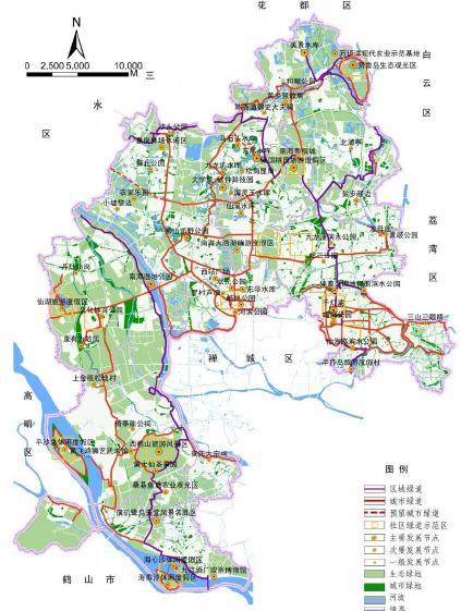 城市绿道网建设规划2011 2020