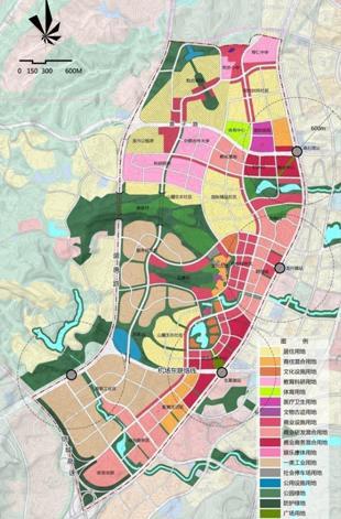 重庆两江新区中韩产业园城市设计2012
