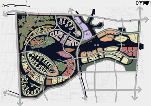 武汉水乡旅游城概念性规划设计2010
