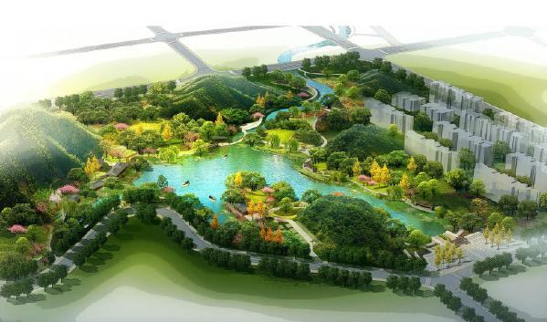 宜宾临港经济开发区白沙堰整治及景观设计2012——成都风景园林院