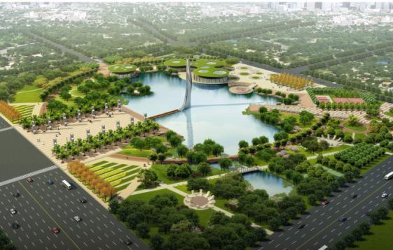 洋河新城市民廣場景觀設計第二輪設計成果——南京