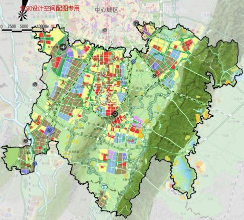 成都天府新区总体规划2010 2030 中规院图片
