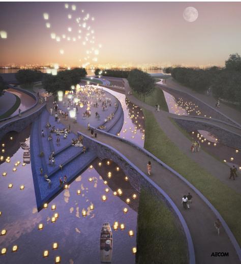 苏州中心广场景观概念设计2011——aecom