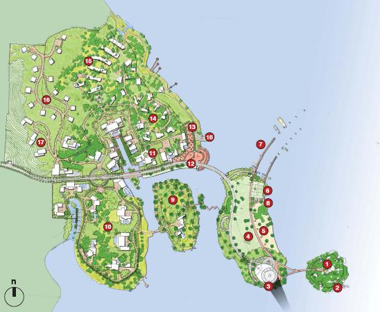 杭州青山湖西岸总体规划设计