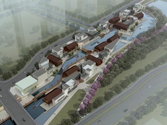 扬州水岸商业街公共建筑方案设计2011——bdcl