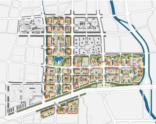 济南东部新城核心区CBD城市研究2011 中规院