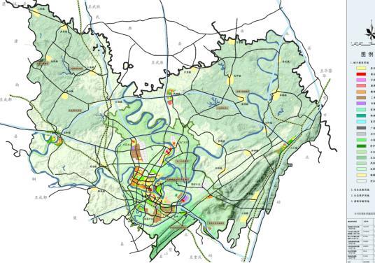 重庆市合川区城市总体规划图纸及文本