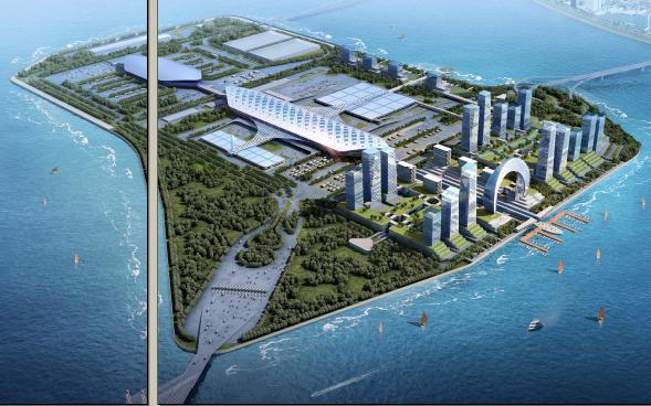 港珠澳大桥珠海口岸交通枢纽及多功能综合区修建性详规 深规院