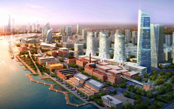 上海杨浦滨江总体城市设计及核心区城市设计——同济