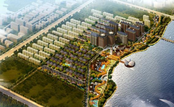 潍坊金鸾御景城建筑报设计方案报建文本--中建美陈设计方案图片