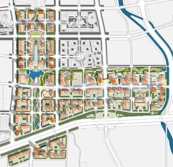济南东部新城核心区cbd城市设计研究2011