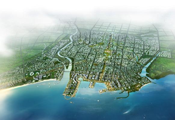 秦皇岛市海港区中心片区总体城市设计2012——ccdi