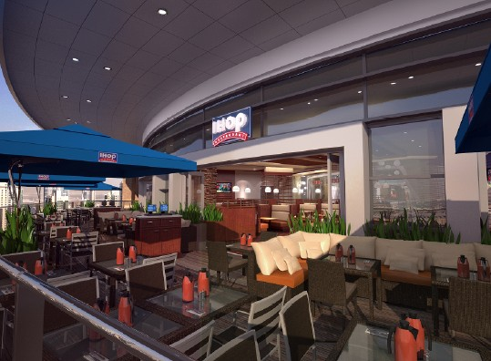 ihop迪拜店餐厅室内设计英文版