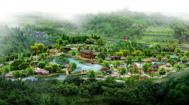 山地景观设计平面图图片