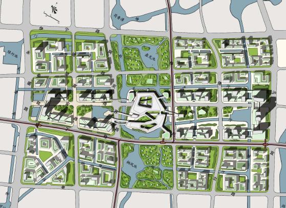 嘉定新城总部园区城市设计2012——eea
