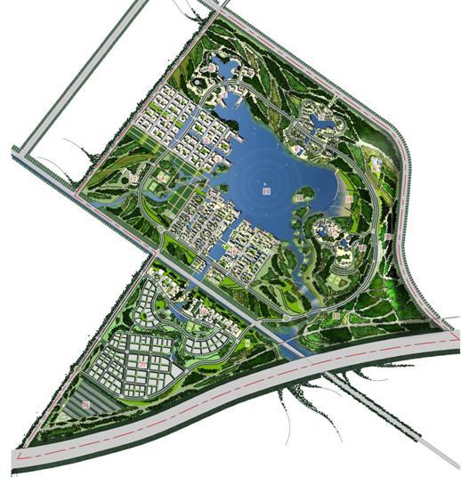 天津团泊新城东区16平方公里城市设计终期报告——hassell