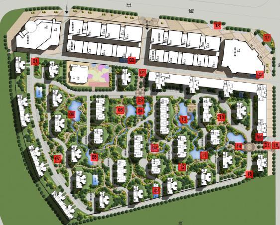沈阳荣盛城景观设计景观2013--荣盛绘制工程所方案建筑软件下载图片