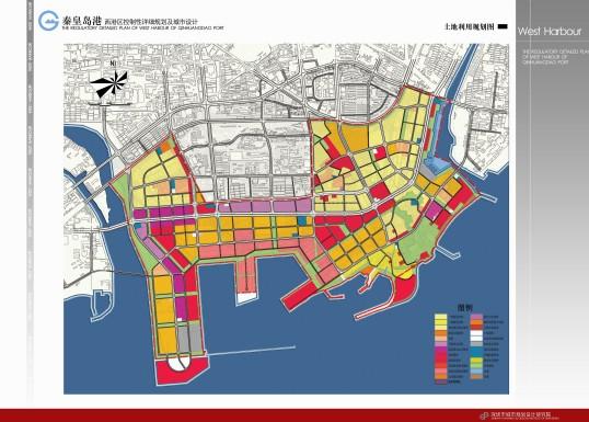 秦皇岛西港区控规及城市设计2010——深规院