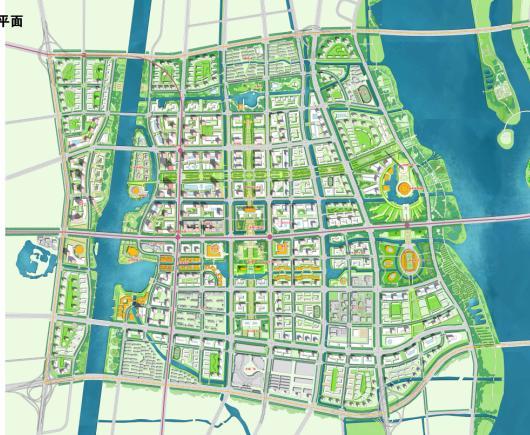 扬州江广融合地区核心区城市设计2012——同济