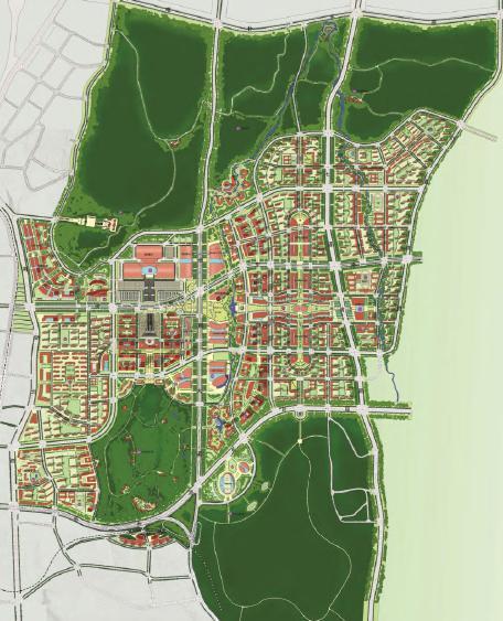 乌鲁木齐市国际会展中心片区城市设计——同济