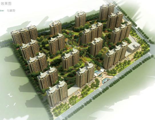 曲江金水湾小区景观设计——nita