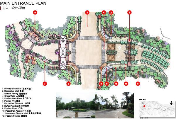 郧阳岛生态文化旅游度假区道路景观设计2012——jwda