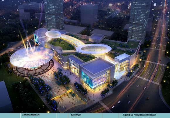 上海前滩25号项目地块商业v项目及建筑设计投洛阳室内设计师会图片