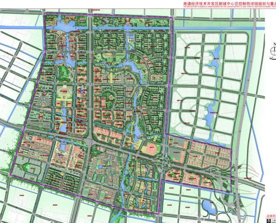 南通市北翼新城核心区控规及城市设计中期成果2011