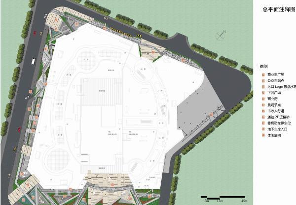 桂林兴进广场景观概念设计2013