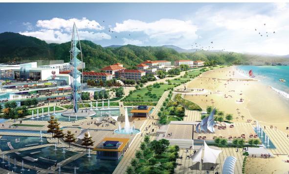 青島嶗山區政府中軸線及周邊區域城市設計