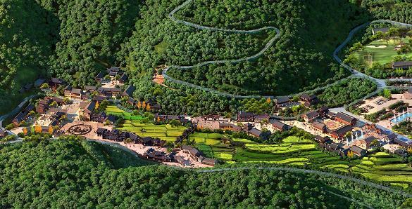 湖北梁山旅游风景区概念性规划——源点