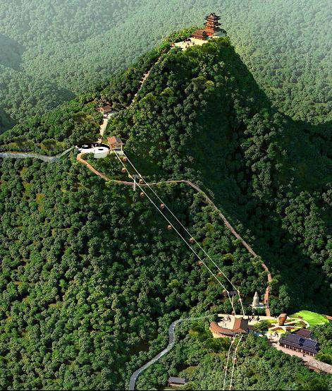 湖北梁山旅游风景区概念性规划 源点
