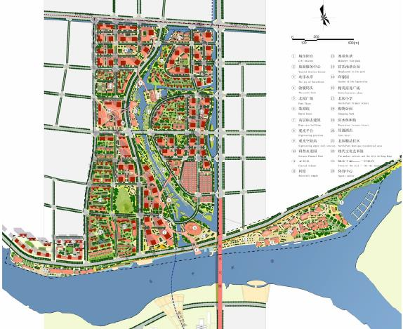 佛山城市国轴线北园区段城市设计国际竞赛说明书图片