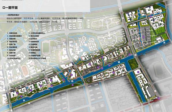 无界仓前-全球互联网创业小镇杭州梦想小镇概念方案—