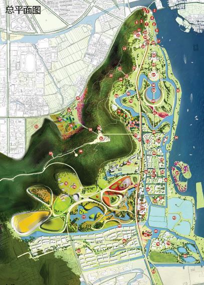 苏州上方山森林植物园,动物园,游乐园规划方案——swa