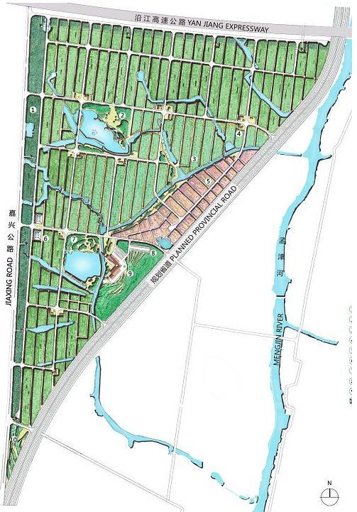 常州农博园南一号地块项目概念规划2012——阿特金斯