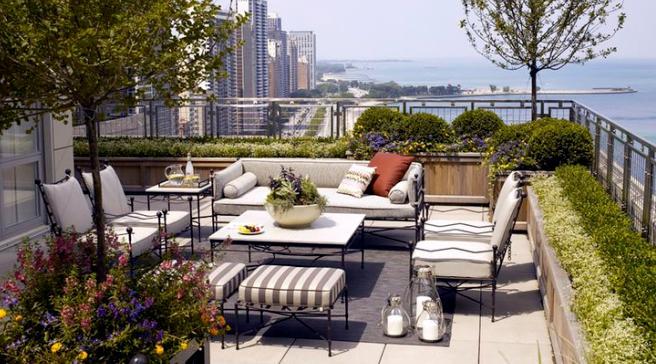 屋顶花园天空花园园艺实景专辑