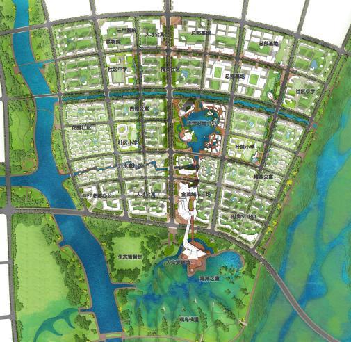 青岛方兴高新区项目概念规划设计2014——aecom