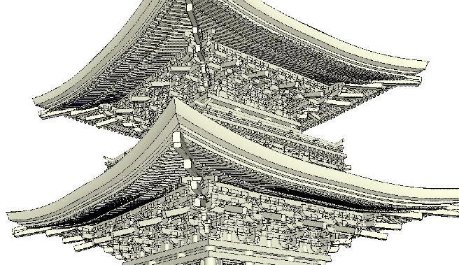 空间结构设计模型