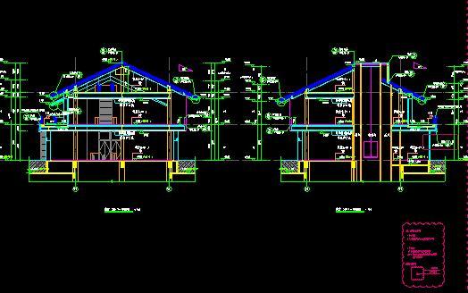 业综合体建筑设计图纸cad