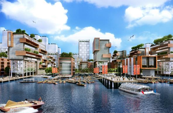 汕头海湾新区东海岸新城地区城市设计——美国nbbj