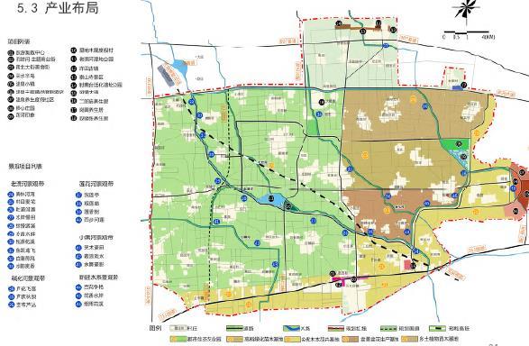 许昌建安区东部生态旅游养生产业带概念性规划