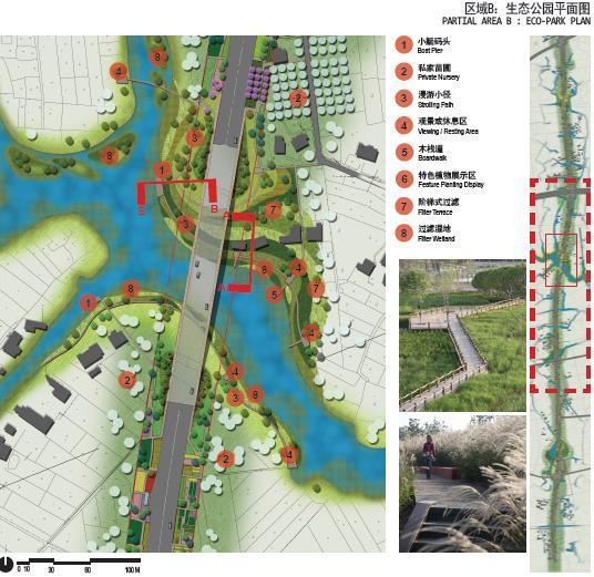100亩苗圃设计平面图