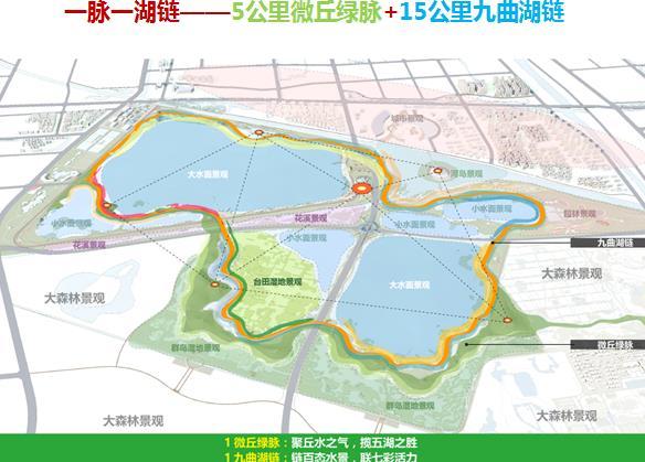 山东省东营市森林湿地公园中心区详细规划2016