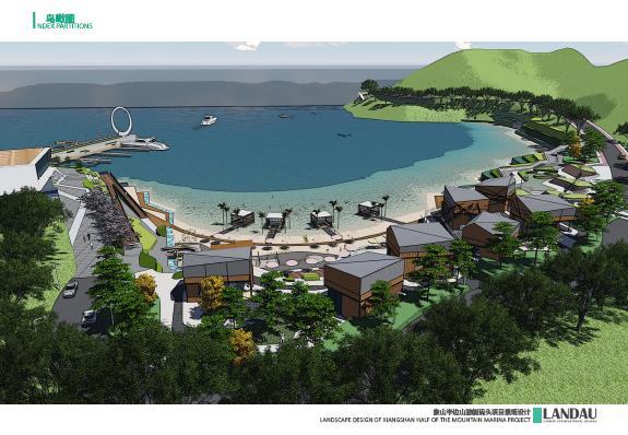象山半边山景区半岛渔湾景观概念设计-游艇码头成果文件2014——landa