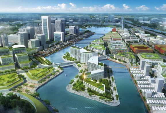 中新广州知识城国际竞赛核心区城市设计简本2013——同济图片