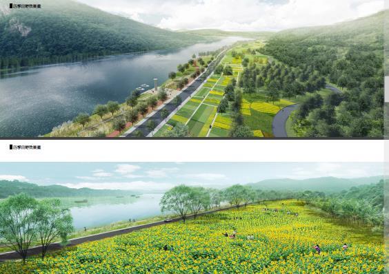 柳州莲花山风景区环江滨水大道b段景观绿化工程方案