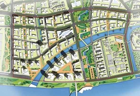 广州国际金融城城市设计