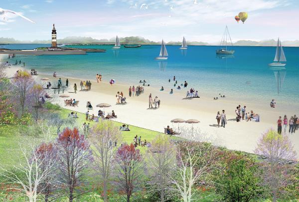 大连普湾新区滨海景观带概念设计深化